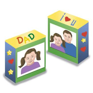 Father's Day Bookends