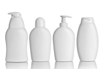 Examples of lotion containers; copyright Picsfive at Dreamstime.com