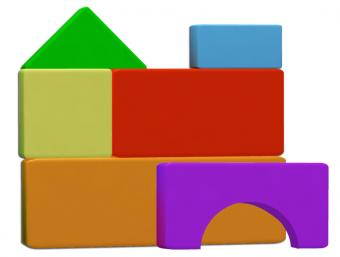 Kid's Building Blocks Pattern