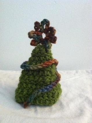 Crocheted Christmas Tree Ornament Patterns