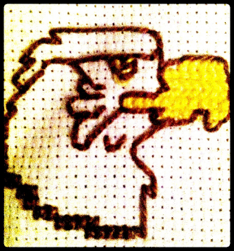 Eagle cross stitch