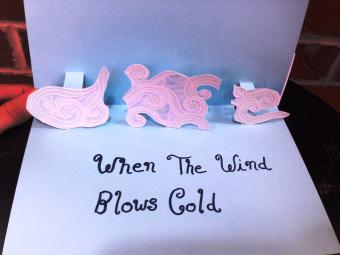 When the Wind Blows Gold card interior