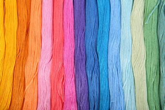Floss in many colors