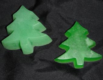 Set of Two Tree-Shaped Soaps from cutsewmeltpour on Etsy, copyright 2013 Vickie Steward. All Rights Reserved. http://www.etsy.com/listing/129717410/set-of-two-tree-shaped-soaps?ref=market&show_panel=true