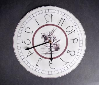 wonderland clock