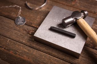 Metal stamping set