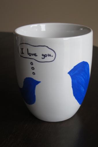 stencil mug