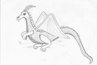 Original drawing by Lucy Lediaev