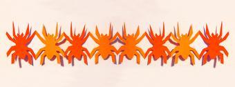 kirigami spider chain