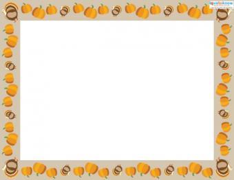Preschool Thanksgiving Crafts placemat background 2