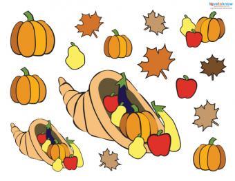Preschool Thanksgiving Crafts placemat pieces 1