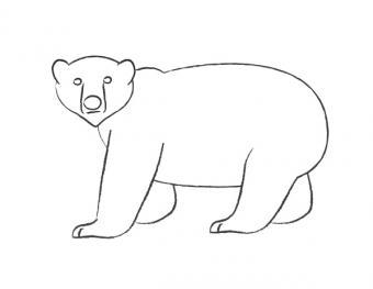 Adding feet and finishing legs on polar bear