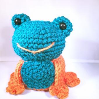 Free Frog Crochet Pattern