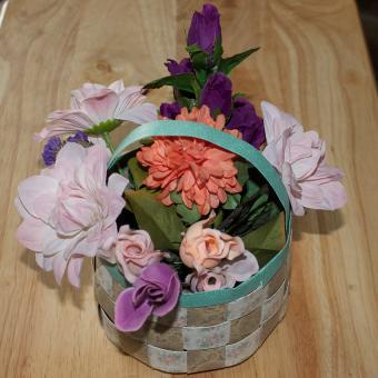 paper weave basket