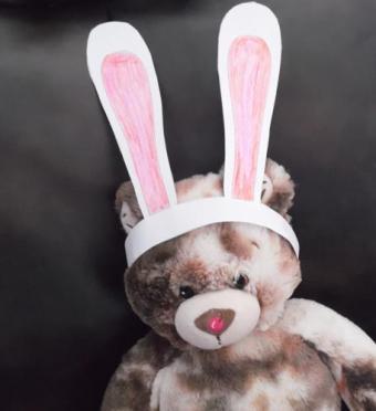Paper bunny ears