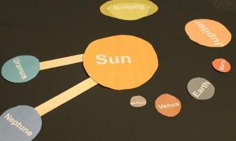 solar system model in progress