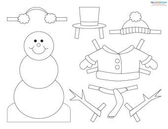 Free Snowman Craft Patterns