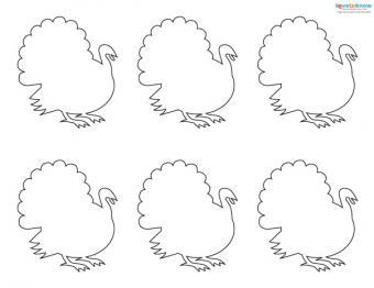 Felt Craft Patterns 6 turkey