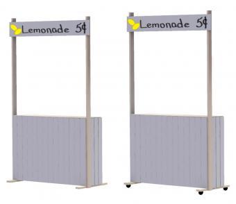 DIY lemonade stand steps 9, 10 and 11