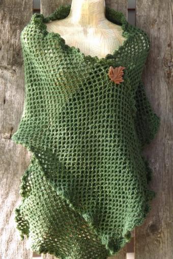 Crocheted Shawl Pattern