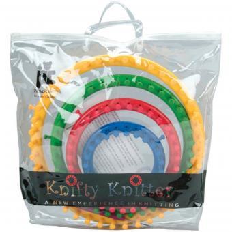 Knifty Knitter loom set at Amazon.com