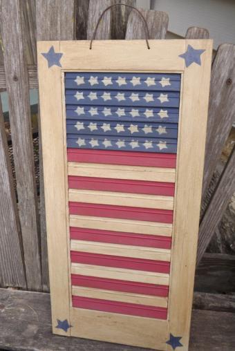 Primitive Flag Shutter