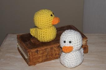 Crochet Jelly Bean Duck