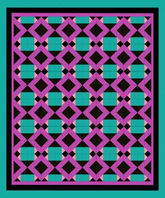 bright quilt pattern