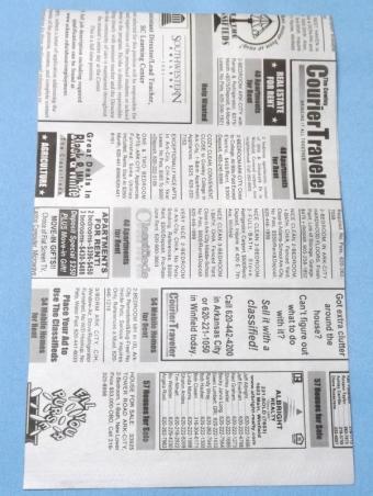 Newspaper page.