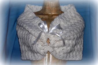 Crochet Wedding Shawl
