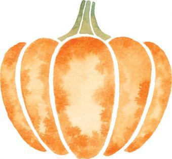 Pumpkin Watercolor