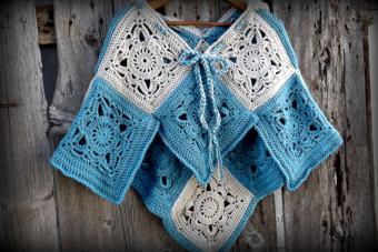 Crochet Hooded Poncho Pattern