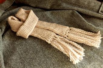 Loom Knit Scarf