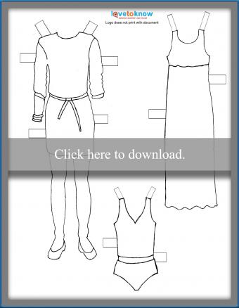 mom paper doll clothes