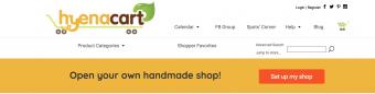 Screenshot of Hyena Cart website