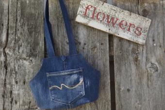 Blue Jean Purse Pattern