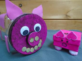 Simple Piggy Bank Craft Projects
