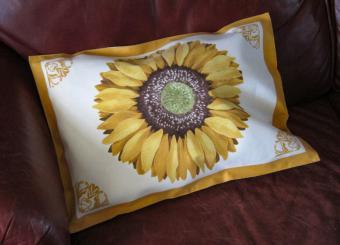 No sew pillow