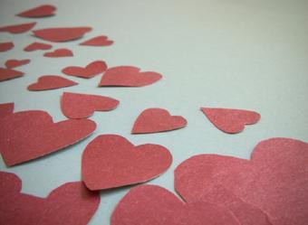 Paper valentine kids crafts
