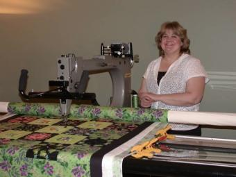 Longarm Quilting: Interview with Lisa Powell