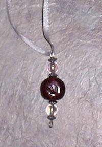 Simple beaded ornament
