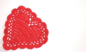 Crocheted Valentine Crafts