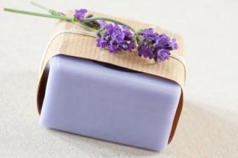 Making Homemade Lavender Soap