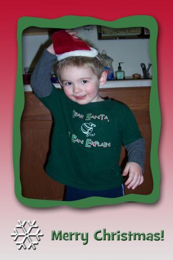 Make Your Own Holiday Photo Card