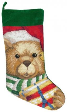 Needlepoint Christmas Stocking