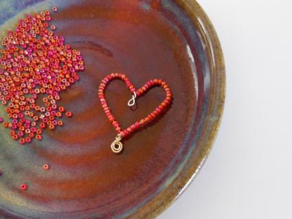 How To Make A Beaded Heart LoveToKnow