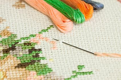 Cross Stitching Instructions