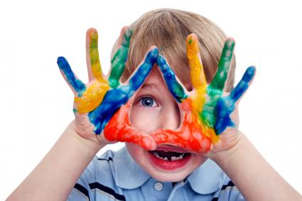 http://www.istockphoto.com/stock-photo-9106055-boy-having-fun-with-finger-paint.php?st=7e19d99