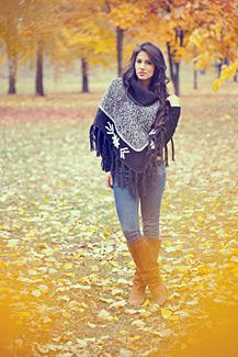 Free Poncho Knitting Patterns | LoveToKnow