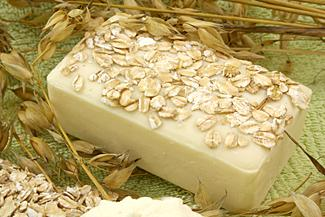 Simple Oatmeal Soap